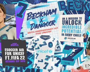 Fifa 22, Unicef e… David Beckham