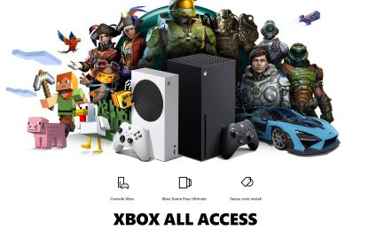 Xbox All Access finalmente in Italia