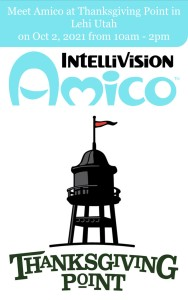Meet Amico at Thanksgiving Point on Saturday, Oct 2, 2021 from 10am-2pm
